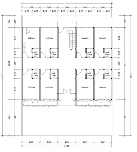 boarding house floor plan boarding house plans