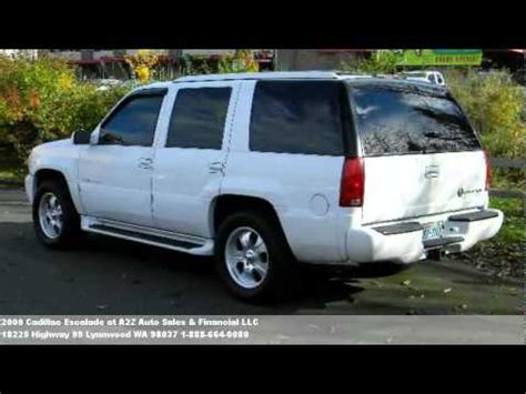 automotive service manuals 2000 cadillac escalade auto manual 2000 cadillac escalade problems online manuals and repair information