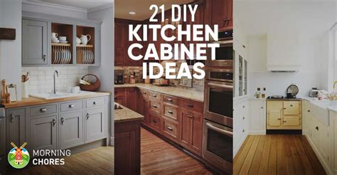 kitchen design diy 21 diy kitchen cabinets ideas plans that are easy