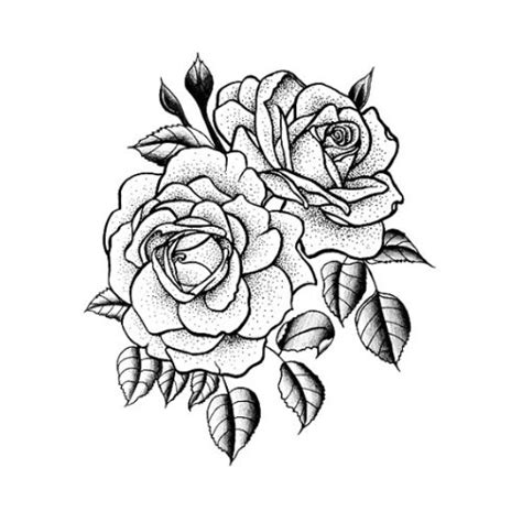 rose tattoo stencil tattoo collection