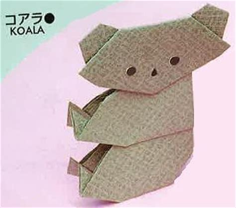 koala origami all about kidz how to make a koala origami