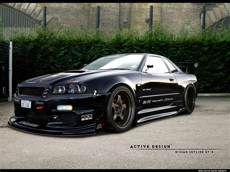 Skyline Gtr R 34 by Cars And Only Cars Nissan Skyline Gtr R34