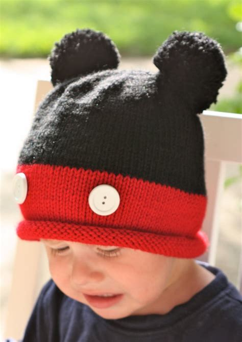 mickey mouse knit hat knit mickey hat loom studio design gallery best design