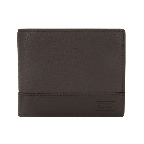 wallet made of hugo wallet made of embossed leather aspen trifold