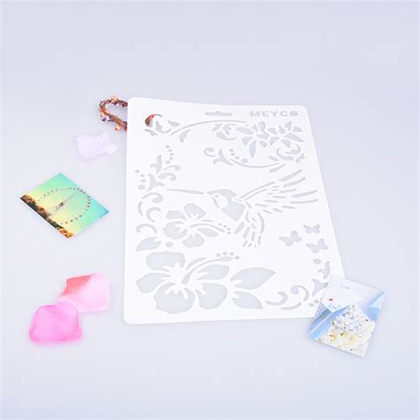 embossing templates card flower butterfly cutting dies scrapbooking stencils card