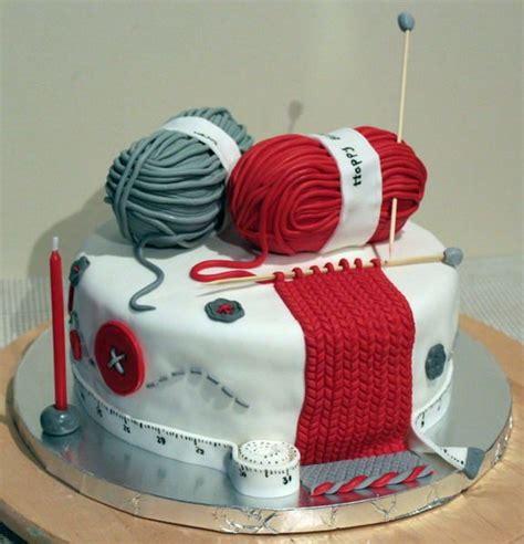 knitted wedding cake knitting lover cake theme cakes