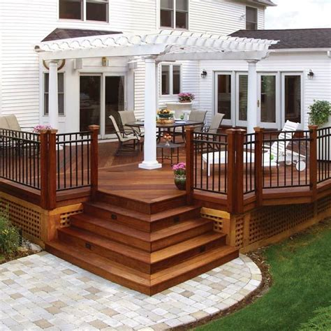 backyard deck designs plans 10 best ideas about deck design on backyard