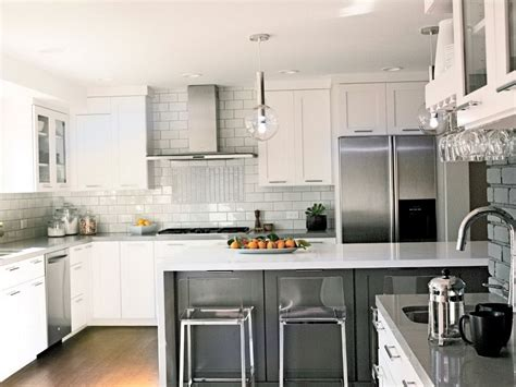 modern backsplash for kitchen kitchen backsplashes with white cabinets design railing stairs and kitchen design