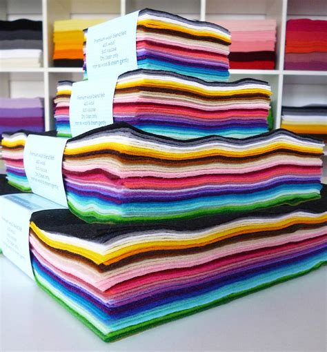 felt paper craft multicoloured pack of premium craft felt by paper and