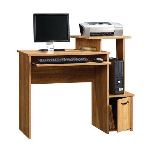oak finish computer desk sauder beginnings oak finish computer desk home