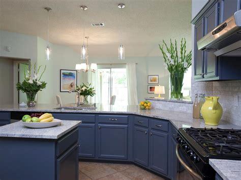 blue cabinets paint it blue combining colour ideas for your simple