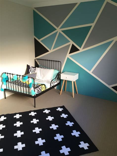 wall paint design ideas 25 best ideas about geometric wall on