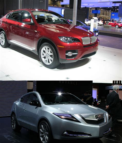 Bmw Vs Acura by Photo Comparison Bmw X6 Vs Acura Zdx