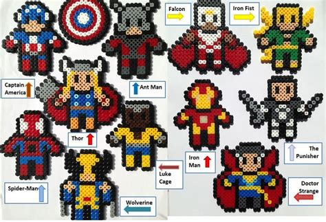 hama marvel 17 best images about hama on perler bead