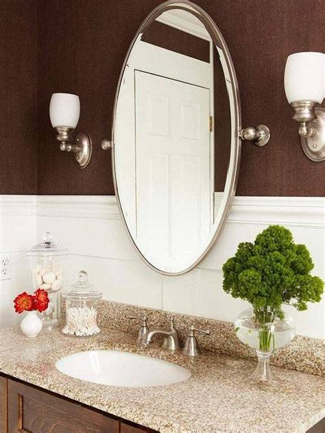 30 photo of oval bevelled mirrors