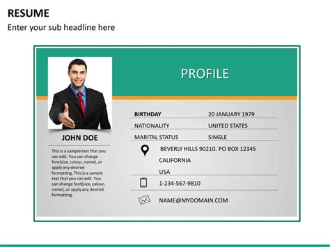 best skills to have on a resume professional resume powerpoint template sketchbubble