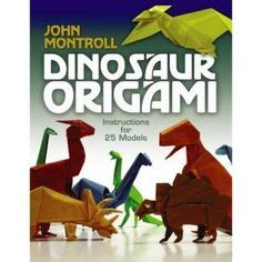 origami dinosaur book 1000 images about dinosaurios origami on