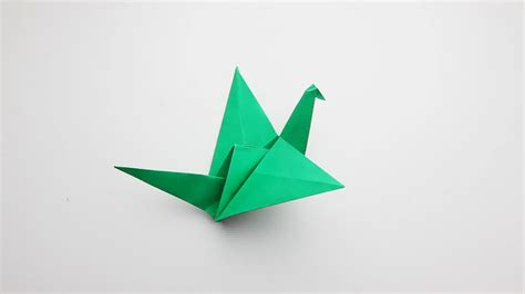 paper bird origami how to make an origami flapping bird 14 steps with pictures