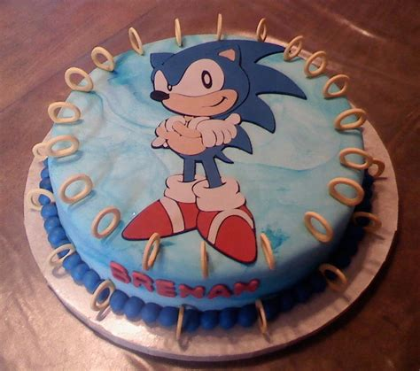Rhinestones For Cakes Decorations by You Have To See Sonic Hedgehog Cake On Craftsy