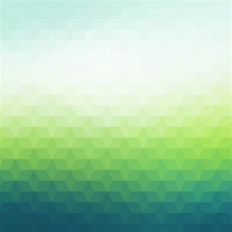 lights and green polygonal background in and light green tones vector