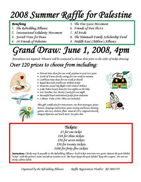 raffle flyer template flyers for raffle prize flyer www gooflyers com