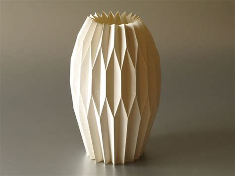 vase origami origami vase paper