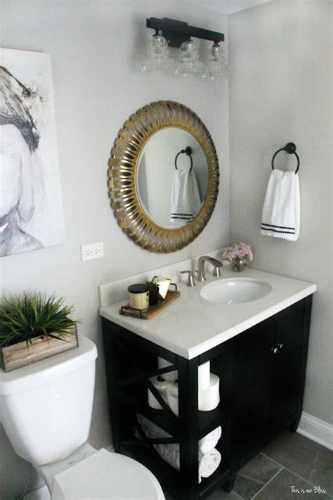 Neutral Bathroom Decor by How To Create A Neutral Glam Bathroom