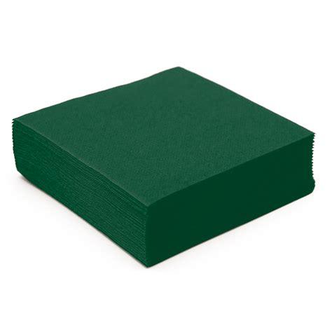 serviette de table en papier vert sapin microgaufr 233 233 paisseur 38 cm