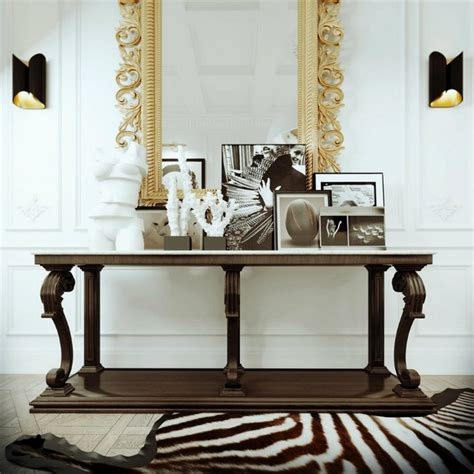 console table decor edgy console tables for a modern home decor news