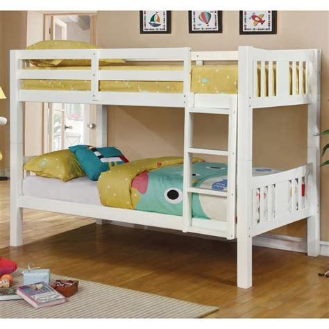 furniture of america bunk beds furniture of america edith bunk bed in