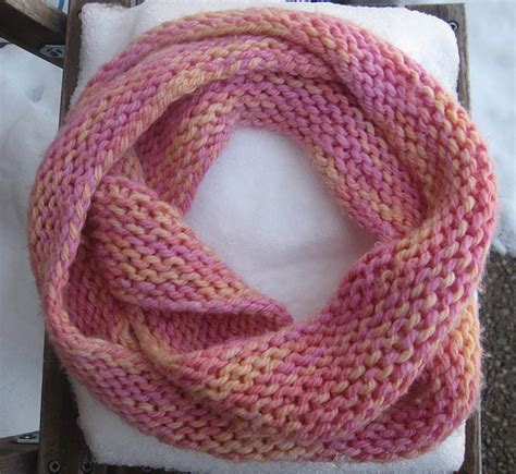 how to knit an infinity scarf with needles infinity scarf knit with yarn from a friend i made it so