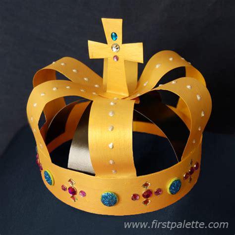 renaissance crafts for gold crown craft crafts