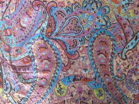 knit fabric by the yard paisley print jersey knit fabric by the yard or half yard