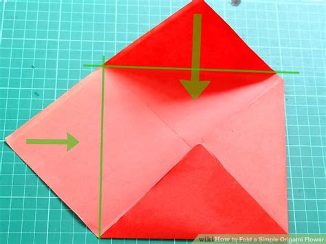 basic origami shapes how to fold a simple origami flower 12 steps with pictures