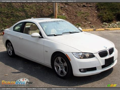 2007 Bmw 328xi Coupe by 2007 Bmw 3 Series 328xi Coupe Alpine White Beige