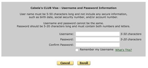 card make a payment cabela s club visa credit card login make a payment