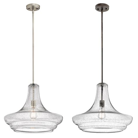 drop ceiling lighting fixtures kichler 42329 everly retro 19 quot wide drop ceiling light