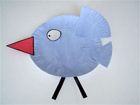 bird paper plate craft 78 best images about preschool birds on bird