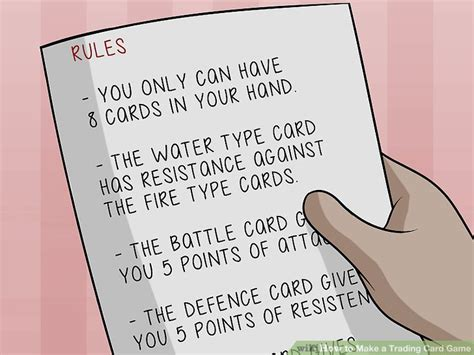how to make a trading card how to make a trading card 9 steps with pictures