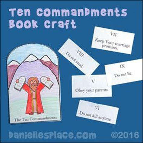 ten commandments for crafts ten commandments and crafts on
