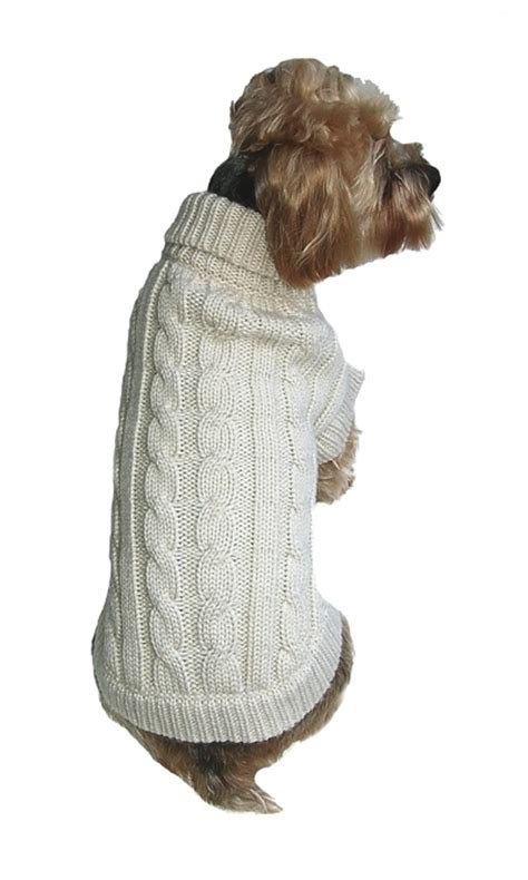 cable knit sweater for dogs classic cable knit sweater quality