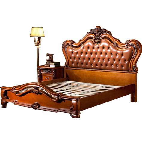 carved bedroom furniture european style bed wood carved wood bedroom