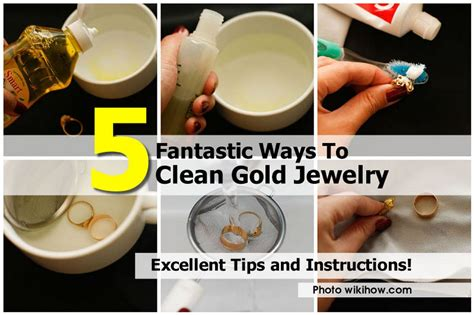how to make jewelry cleaner for gold 5 fantastic ways to clean gold jewelry