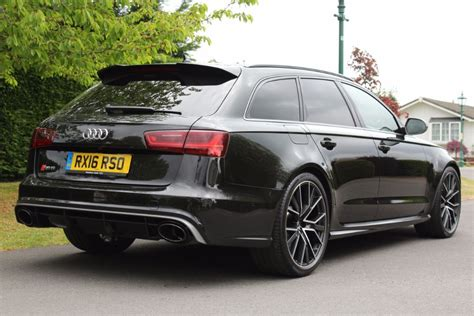 Audi Rs6 Black by Used Panther Black Audi Rs6 Avant Performance For Sale