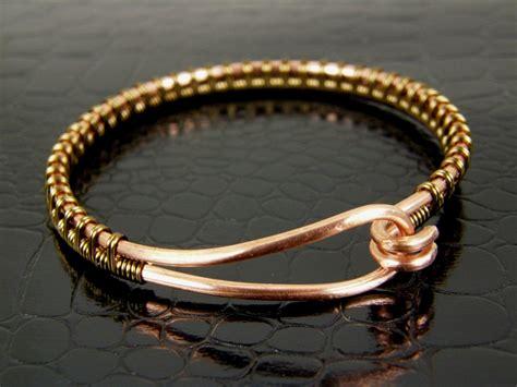 bracelet wire for copper wire bangle bracelet wire wrapped in brass
