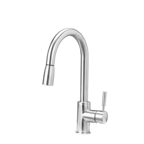 single handle pull kitchen faucet blanco sonoma single handle pull sprayer kitchen