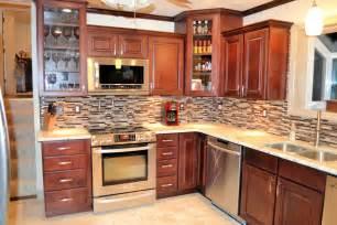 maple kitchen ideas kitchen backsplash ideas with maple cabinets with pics