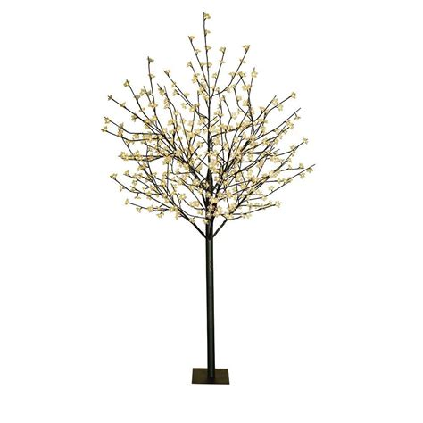 4 in 1 cherry tree home depot 8 ft flower led lighted tree 93041 the home depot