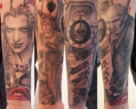 low lock tattoo studio ron meyers rocky horror sleeve