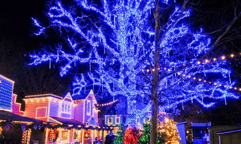 silver dollar city lights branson best destinations an